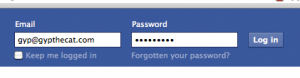 Facebook Logon