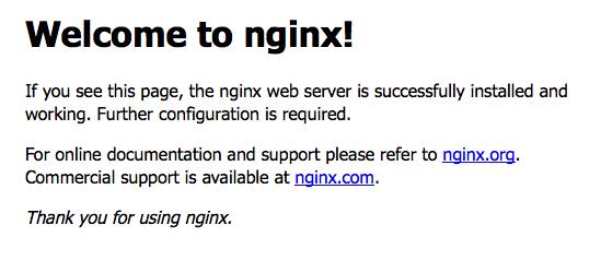 nginx-landing-page